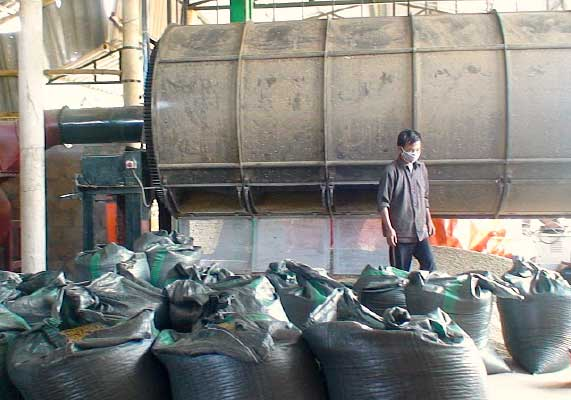Oriberry coffee processing factory in Quang tri