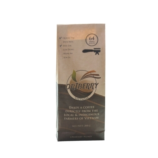Vietnamese coffee Arabica and Robusta mixed. Direct-trade | Fair-trade coffee Vietnam