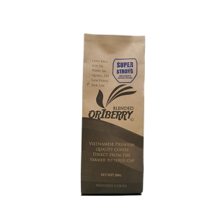 Vietnamese coffee, super strong 100% natural processing robusta from Oriberry