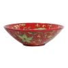 Bat trang vintage ceramic, red glaze bowl - Oriberry coffee