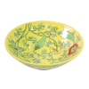 Bat trang vintage ceramic, yellow glaze bowl - Oriberry coffee