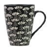Bat trang Engraved Ceramic Cup. Vietnam